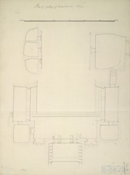 Ellora: Vishvakarma Cave, plan of gallery